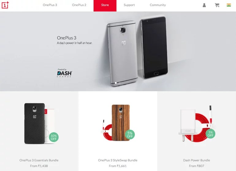 OnePlus Store officially launched in India, comes with Exclusive Offers