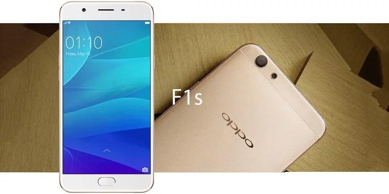 OPPO F1s Selfie Expert upgraded with 4GB RAM, 64GB Storage, 4G VoLTE