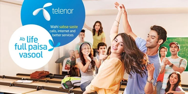 Telenor launches FRC 103, Offers Unlimited 4G and Reduced Voice Tariff