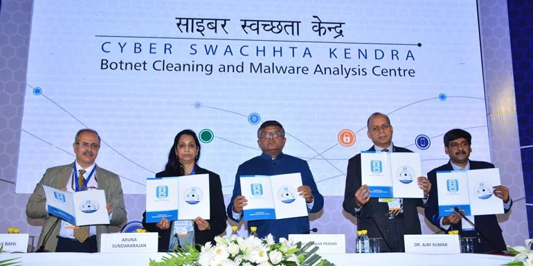 Government launches Cyber Swachhta Kendra along with Free security tools
