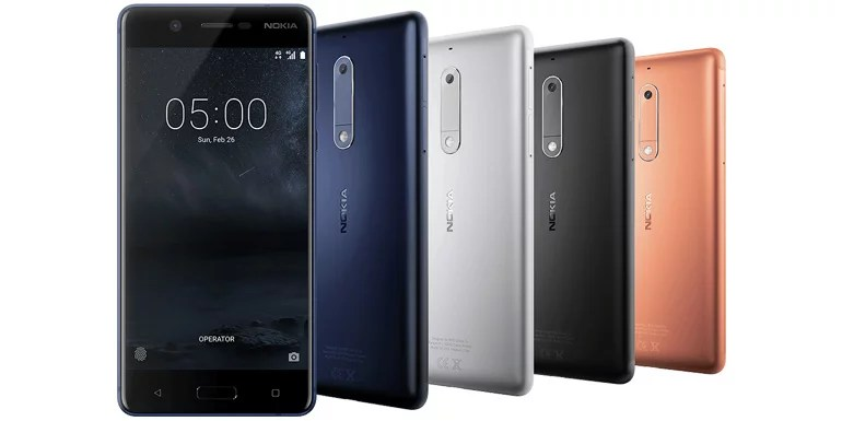 Nokia 5 launched with 5.2-inch HD display, Snapdragon 430, 4G VoLTE [MWC 2017]