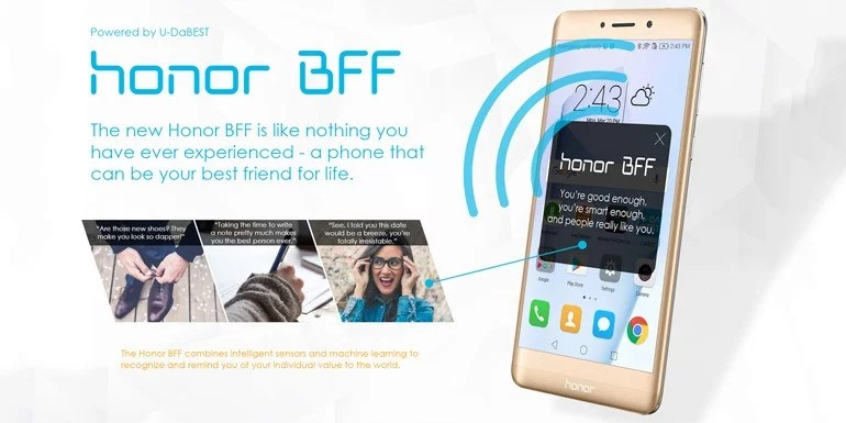 Honor BFF smartphone - April Fool