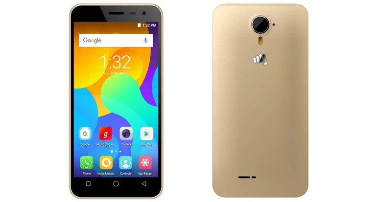 Micromax launches Spark Vdeo wth Google Duo support, 4G VoLTE