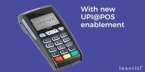 UPI@POS - use existing POS terminal to accept UPI-based cashless payments