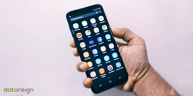 Samsung Galaxy S8 and Galaxy S8 review - user interface and apps