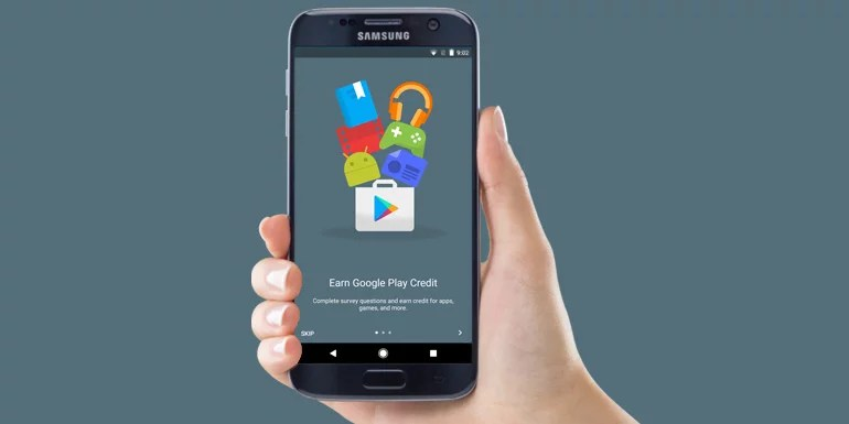Google Opinion Rewards launched in India - Answer Surveys and Earn Google Play Credits