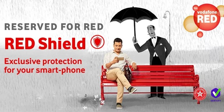 Vodafone RED Shield launched with mobile security solution and Insurance