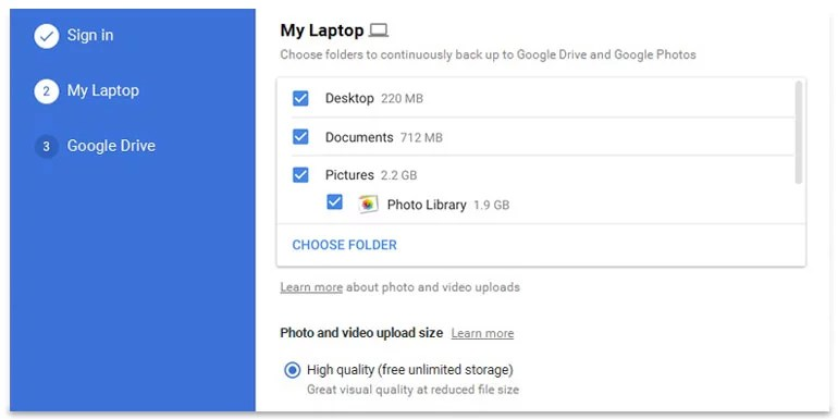 Google Backup and Sync - One Stop Solution to Backup your devices