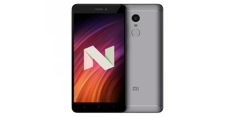 Xiaomi Redmi Note 4 Gets Nougat Update In MIUI 8 And MIUI 9