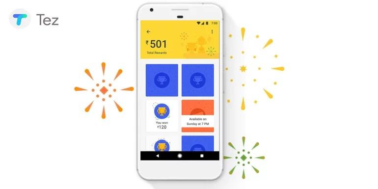 Google Tez Rewards
