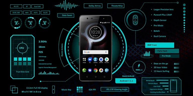 Lenovo K8 Plus and K8 launched in India - Stock Android, Dual Camera