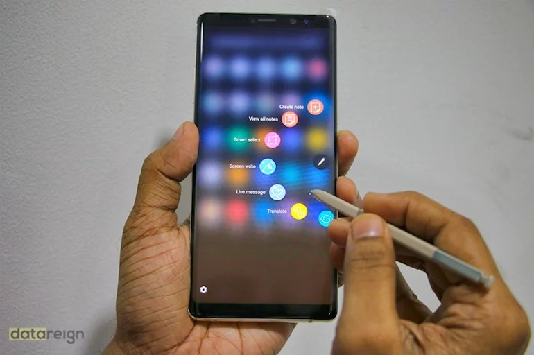 Samsung Galaxy Note8 India - UI and Apps review