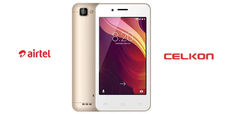 Airtel partners Celkon for its 'Mera Pehla Smartphone' Initiative - Launches Celkon Smart 4G at Rs 1349