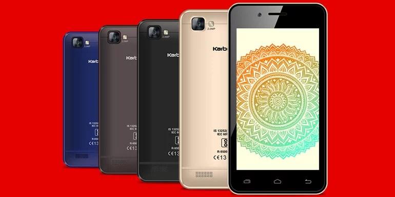 Karbonn A40 Indian - Airtel's first 4G smartphone