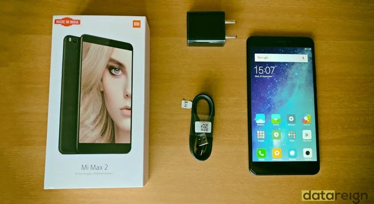 Xiaomi Mi Max 2 Review - Inbox Components and Accessories