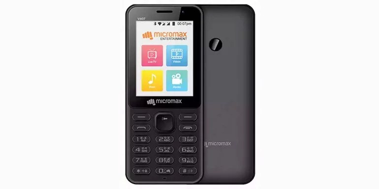 Micromax Bharat 1 Feature phone launched with 4G VoLTE, Unlimited Plan from BSNL