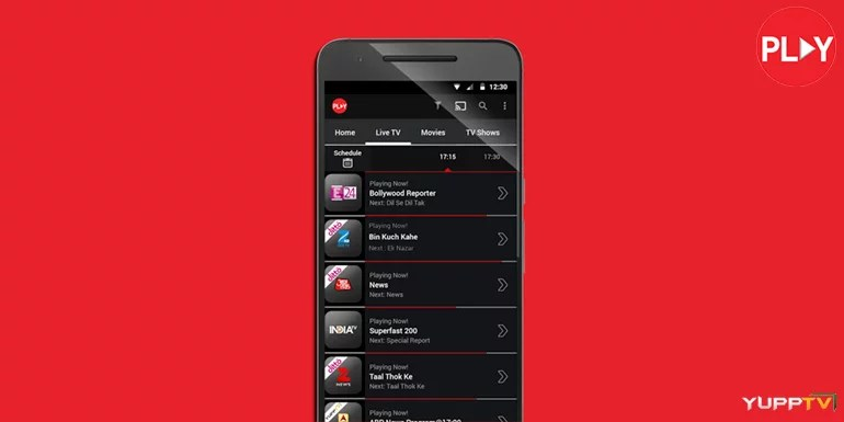 Vodafone Play app gets 250+ Live TV channels from YuppTV