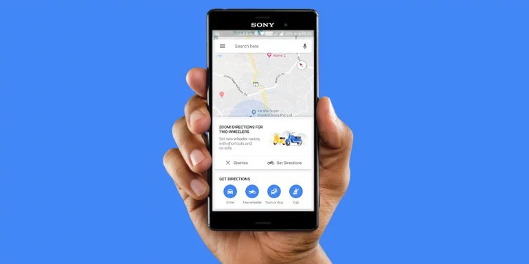 Now Travel Using Shortcuts With Google Maps Two-wheeler Mode in India
