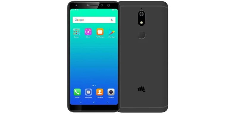 Micromax launches Canvas Infinity Pro with Dual Selfie Camera, Full Vision display