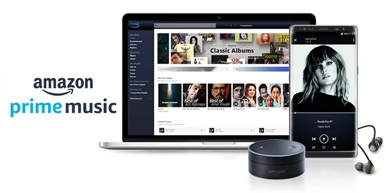 Amazon Prime Music goes live in India with Unlimited Ad-free Music Streaming and Downloads