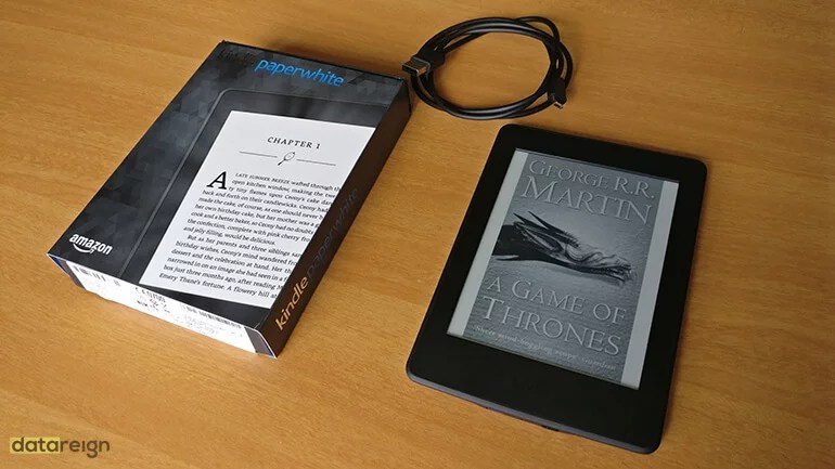 Amazon Kindle Paperwhite 7th Gen e-Reader package