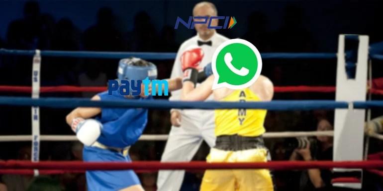 WhatsApp Payments Beta Via UPI Violates NPCI guidelines Says Paytm