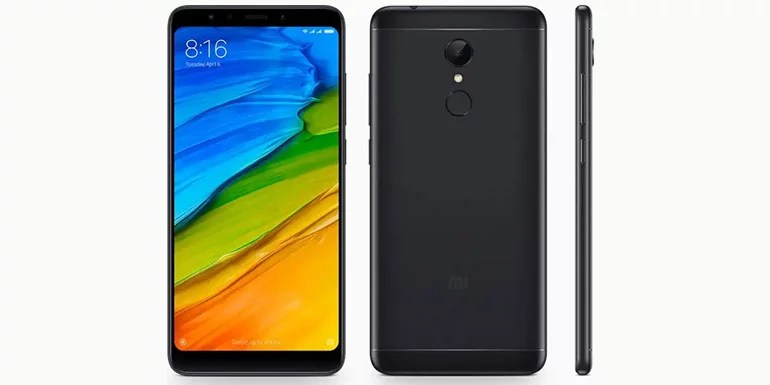 Redmi 5 android Smartphone with Full Screen Display