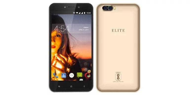 Swipe Elite Dual camera smartphone