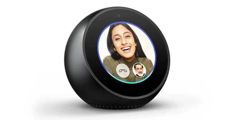 Amazon Brings Echo Spot To India - A Compact Echo With A Screen