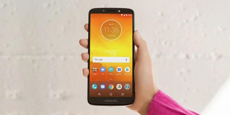 Moto E5 android smartphone
