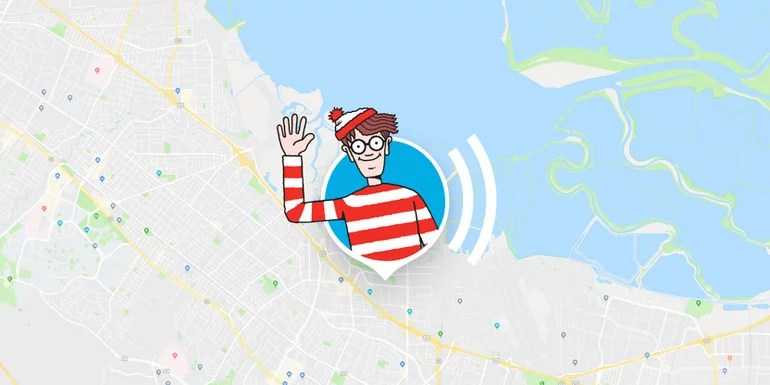 Find Waldo in Google Maps during April Fool's 2018