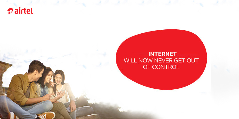 Airtel Unlimited Data even after FUP on Prepaid Mobile Plans
