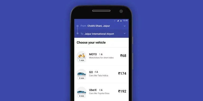Uber Introduces A Lite App