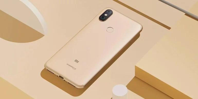 Xiaomi Mi A2 with AI dual camera