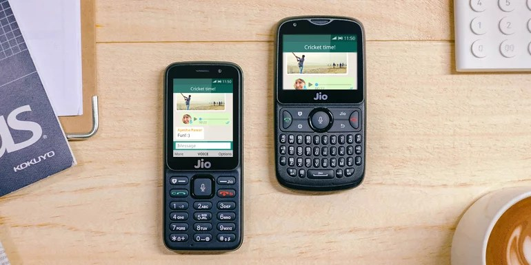 WhatsApp launched for JioPhone