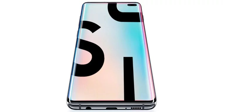 Samsung Galaxy S10 plus android smartphone