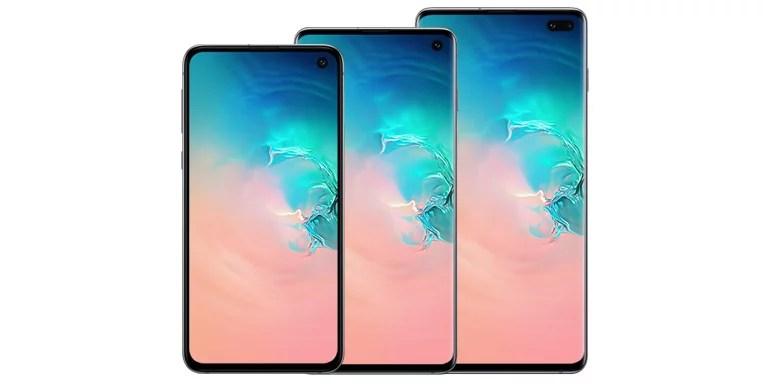 Samsung Galaxy S10, Galaxy S10+, Galaxy S10e android smartphones