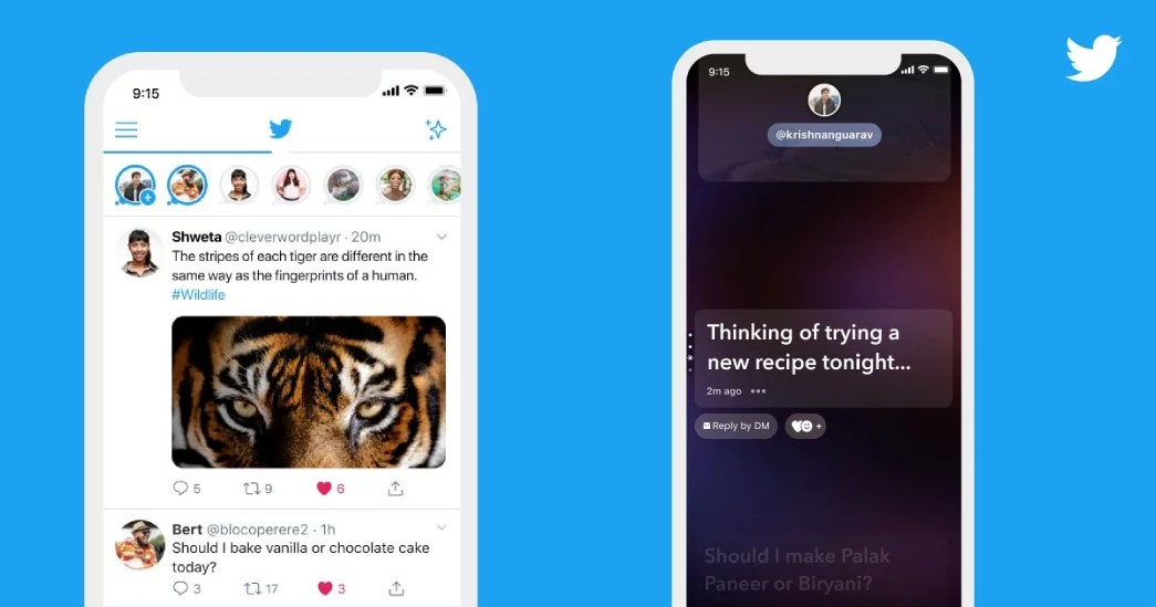 Twitter Fleets launched in India and available on mobile apps