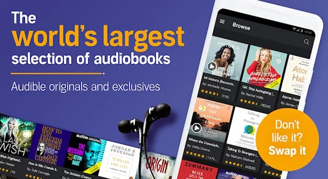 Now get 5 audiobooks free with an exclusive 90-Day FREE trial on Audible from Amazon - the easiest way to read is to listen.