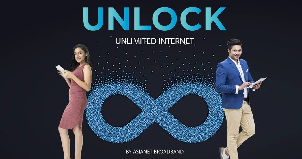 Asianet Broadband launches Unlock Unlimited Internet plans