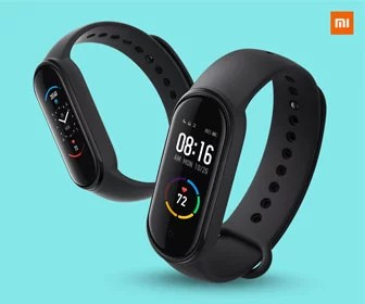 Mi Smart Band 5 with all-new women health tracking, PAI, 11 workout modes, heart rate monitoring & water-resistant.