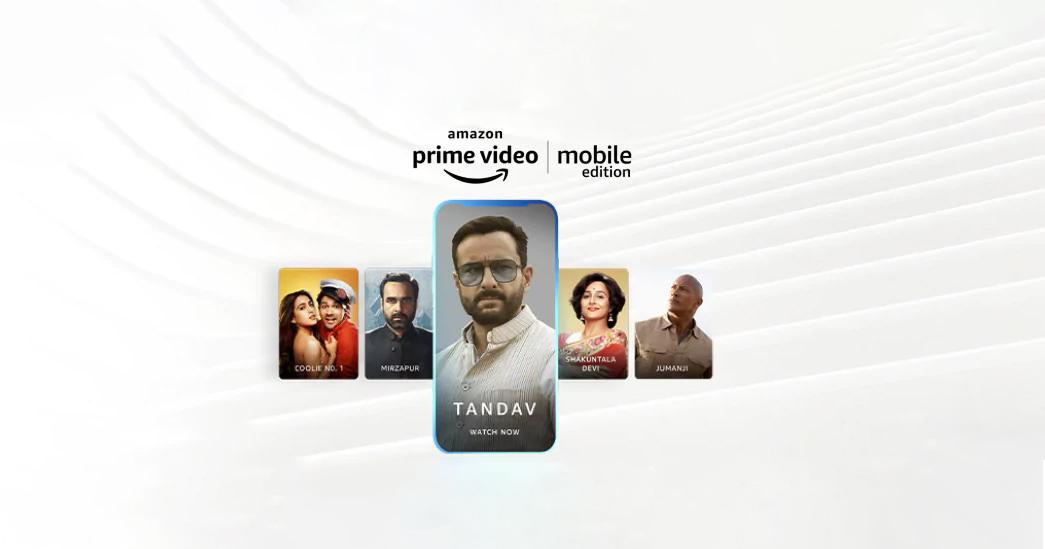 Amazon Prime Video Mobile Edition plan on Airtel