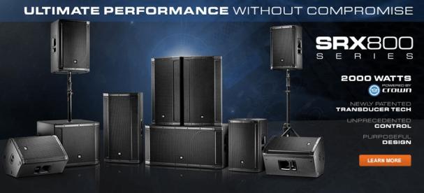 JBL SRX800 Series Overview srx800 seriespng