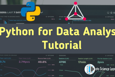 Python for Data Analysis Tutorial