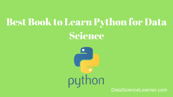 Best Book to Learn Python for Data Science | Machine Learning