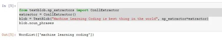 sentiment analysis python code output2