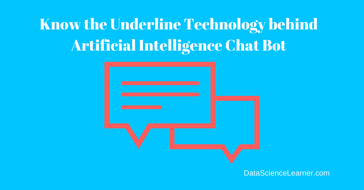 Architecture ofArtificial Intelligence Chat bot