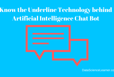 Architecture of Artificial Intelligence Chat bot