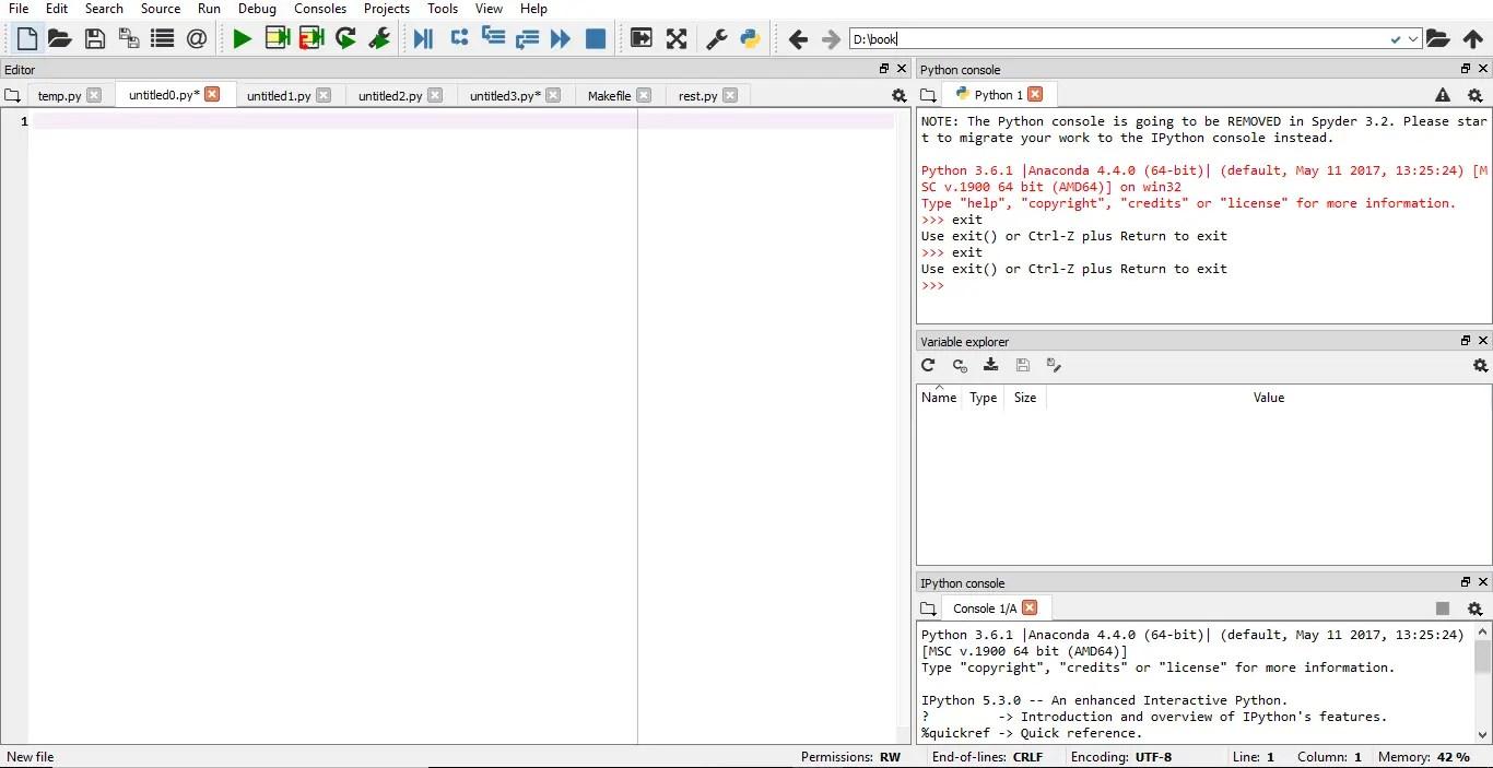 Best Python IDEs Spyder