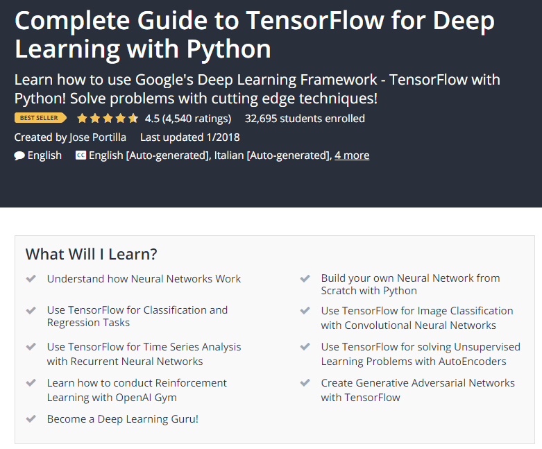Complete Guide to TensorFlow for Deep Learning with Python Udemy.png